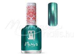 Chrome Green Nyomdalakk - Moyra 12ml SP 27