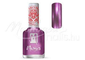 Chrome Purple Nyomdalakk - Moyra 12ml SP 28