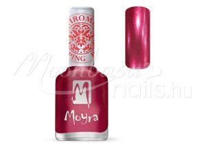 Chrome Rose Nyomdalakk - Moyra 12ml SP 29