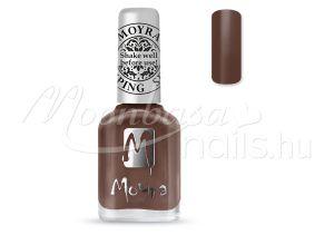 Chocolate brown Nyomdalakk - Moyra 12ml SP 37