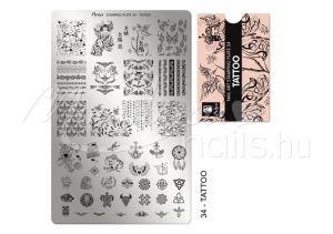 Tattoo Nyomdalemez - Moyra  #34