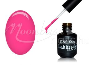Halvány neon pink One step géllakk 5ml #022