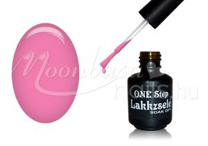 Neon világos pink One step géllakk 5ml #287