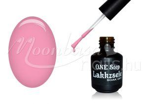 Pasztell világos rózsaszín One step géllakk 5ml #114