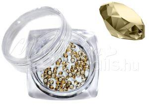 mézsárga Pixie kristály strasszkő 300db #10