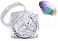 Pixie kristály strasszkő, 300db, #27, szivárvány