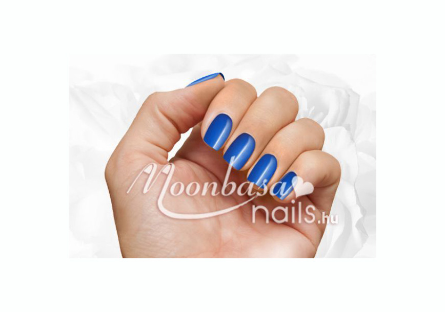 Színes zselé 5ml #035 Enyhén átlátszó sötét kék