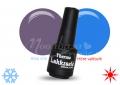 Lila-kék thermo lakkzselé, gél lakk 5ml
