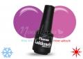 Retro lila-neon rózsaszín thermo lakkzselé, gél lakk 5ml