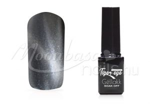 Ezüst Tiger eye covering géllakk 5ml #852