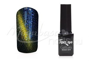 perzsakék Tiger eye géllakk 5ml #810