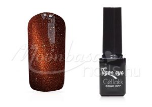 bronzbarna Tiger eye géllakk 5ml #812