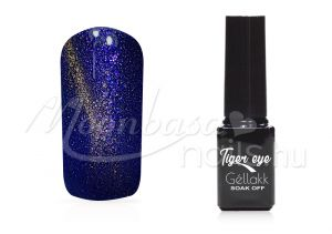árvácskalila Tiger eye géllakk 5ml #841