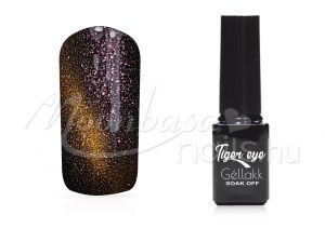 kígyózöld Tiger eye géllakk 5ml #842