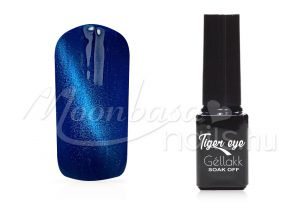 Mélykék Tiger eye géllakk 5ml #817