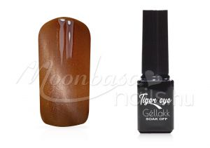 Sötétsárga Tiger eye géllakk 5ml #818