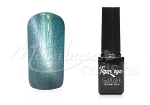 Ezüstzöld Tiger eye géllakk 5ml #821