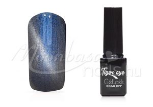 Ezüstkék Tiger eye géllakk 5ml #822