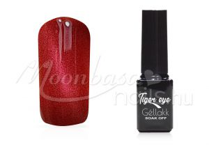 Pecsenyevörös Tiger eye géllakk 5ml #825