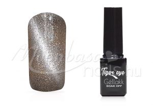 Ezüstősz Tiger eye géllakk 5ml #844