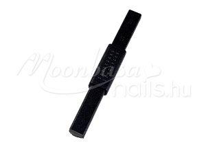 Fekete műanyag borítással Tiger eye szupererős mágnes mintázós  #235