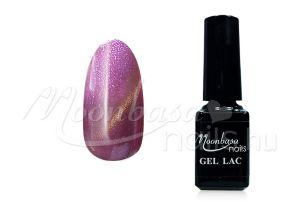 Csillámos lila - rózsakvarc Tiger eye thermo géllakk (gél lakk) #870