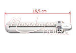 U-alakú UV cső 16,5 cm 9W-D