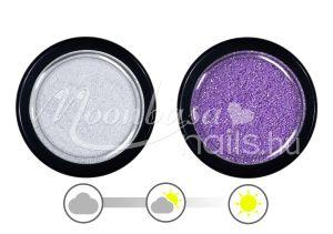 Lila UV effect csillámpor  #031