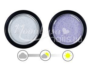 Levendula UV effect csillámpor  #035