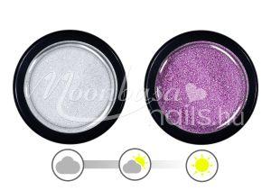 Mályva UV effect csillámpor  #036