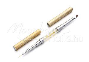 Arany Zselé ecset kétfejű  Z025-2