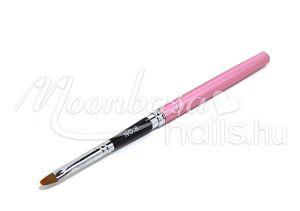 Zselé ecset lapos  Z011-8 Rózsaszín gravírozott