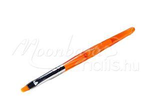 Narancs Zselé ecset lapos  Z003-2