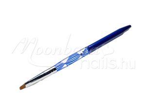Zselé ecset lapos  Z017-2 kék