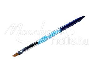 Zselé ecset lapos  Z018-10 Kék