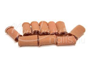 Zselés lábujjvédő gyűrű textil borítással 10db/csomag  Test színű