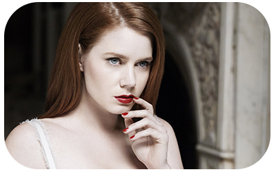 Amy Adams red nails