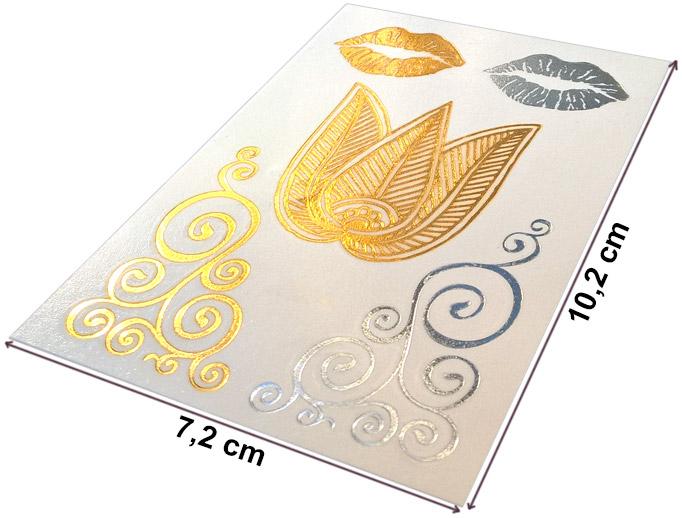 Arany tetoválás mérete