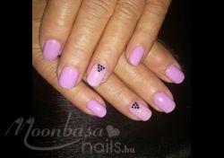 : lakkzselé,one step lakkzselé, pasztell lila,baba rózsaszín