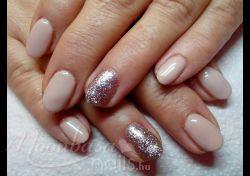 : Lakkzselé #127, glitteres lakkzselé #308,