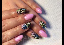 Rózsaszín Lakkzselé: Lakkzselé, rózsaszín, fekete